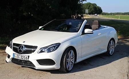 Mercedes Class E Convertible