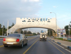 Luxury car hire Marbella