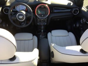 Interior mini cabirolet s